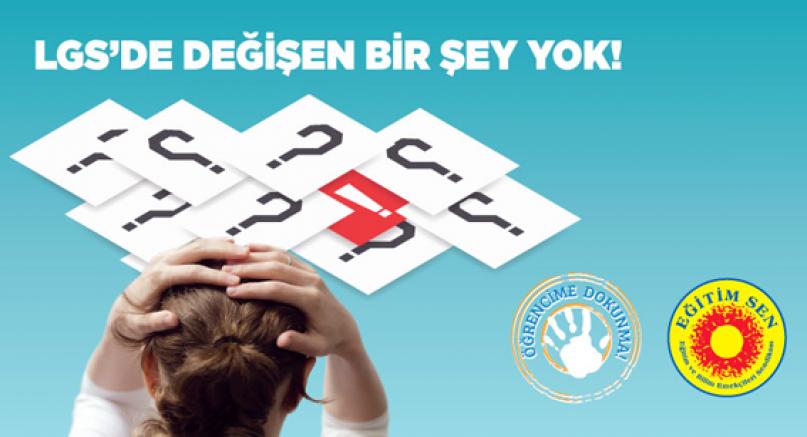 'LGS'DE ÖZEL DERS ALANLARA AYRICALIK GÖSTERİLDİ'